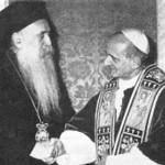 L'incontro tra Athénagoras e Paolo VI nel 1964 - P6orthodox