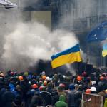 Manifestazioni a Kiev nel febbraio 2014 - Аимаина хикари
