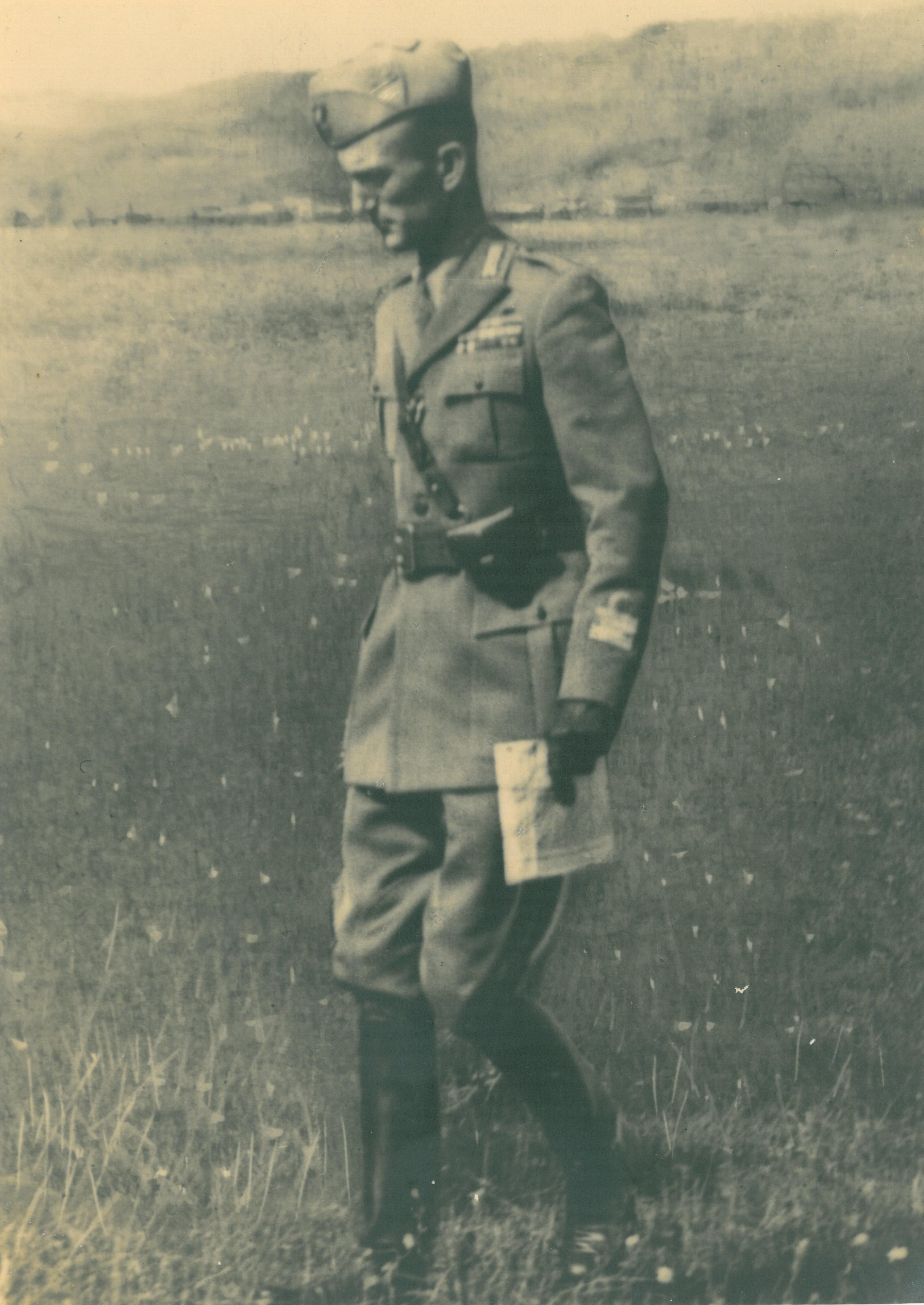 Il colonnello Montezemolo nel 1943