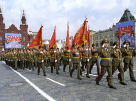 Parata sulla Piazza Rossa a Mosca - Vladimir Rodionov