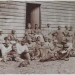 Gruppo di schiavi nella Carolina del Sud, 1860