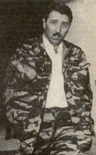 Armand Belvisi al momento del suo arresto il 30 maggio 1962