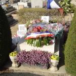 La tomba di Bastien-Thiry a Bourg-la-Reine