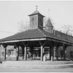 Mercato di schiavi sulla pubblica piazza di Louisville, Contea Jefferson, Georgia