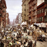 Mulberry Street, Little Italy, New York, primi del '900