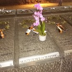 La tomba del colonnello Montezemolo alle Fosse Ardeatine.