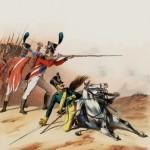 La legione dell'Hannover inquadrata nell'esercito francese, 1806