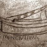 La nave con l'incisione Domine ivimus