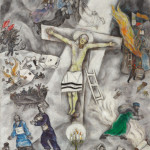 La crocifissione bianca, di Marc Chagall, 1938