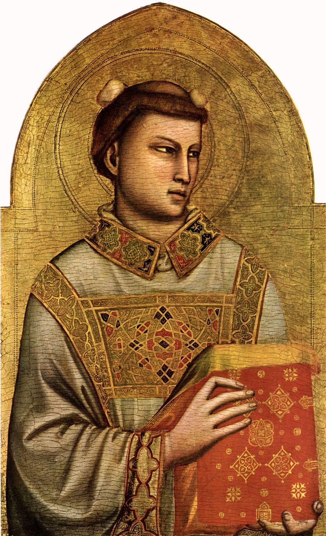 Santo Stefano dipinto da Giotto