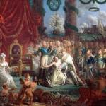 Luigi XVIII risolleva la Francia, di -Louis-Philippe Crepin, 1814