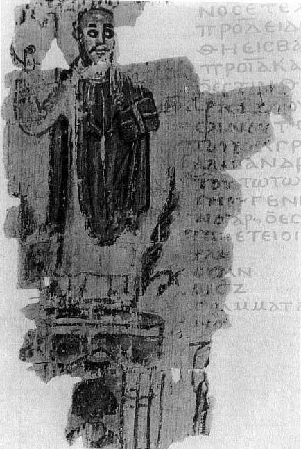 Teofilo, con il vangelo in mano, trionfante sulle rovine del Serapeo nel 391