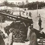 Una batteria italiana nei pressi di Tripoli