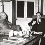 L'ambasciatore USA John Kenneth Galbraith e Jawaharlal Nehru, 1962