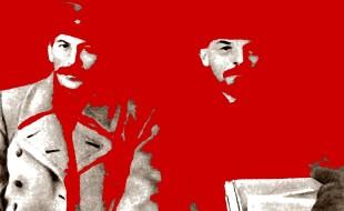 Stalin e Lenin nel 1919 - Copia
