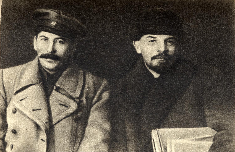 Stalin e Lenin nel 1919