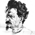 Trockij in un ritratto del 1922