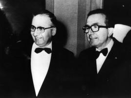 Licio Gelli e Giulio Andreotti