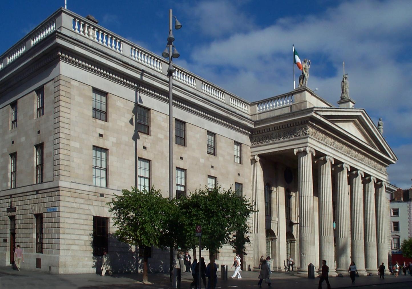 Il General Post Office di Dublino