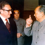 Kissinger e Mao nel 1972