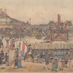 10 termidoro esecuzione di Robespierre e dei suoi complici