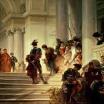 Cesare Borgia lascia la Santa Sede alla morte del padre, di Giuseppe Lorenzo Gatteri