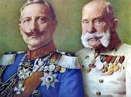 Guglielmo II e Francesco Giuseppe