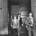 Allende durante l'attacco al alla Moneda