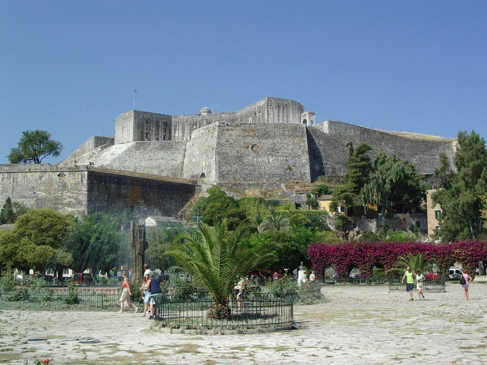 La citadella di Corfù