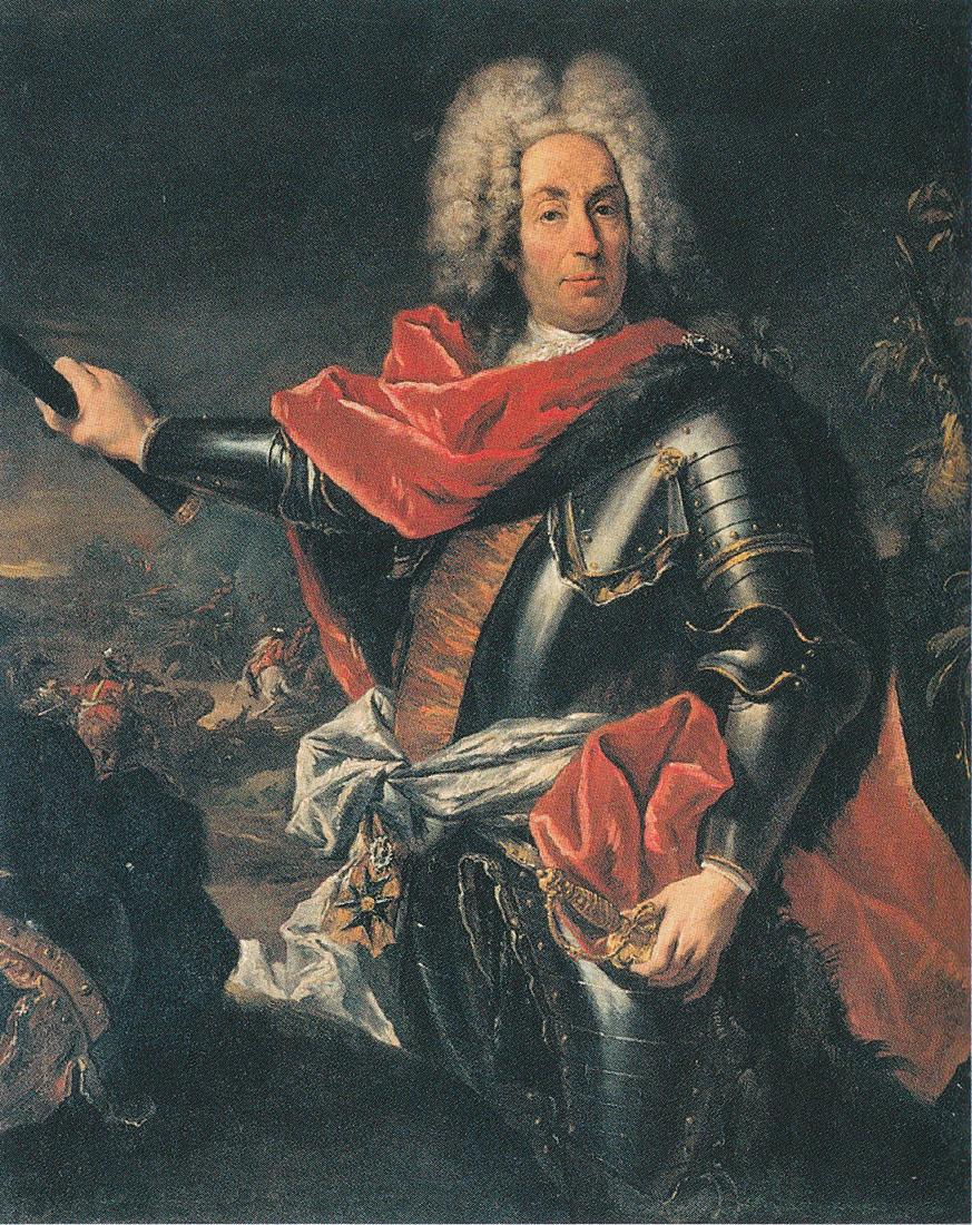 Il maresciallo Matthias von Schulemburg, dipinto di Giannantonio Guardi