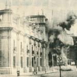 11 settembre 1973, bombardamento del palazzo de la Moneda