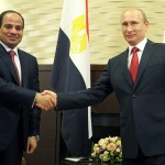 Al-Sisi al Cremlino con Putin, agosto 2014