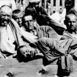 Zek fuori dall'infermeria di un Gulag