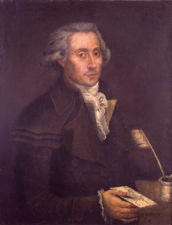 Georges Couthon, dipinto di François Bonneville