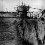 Il sommergibile tedesco U-977 dopo la resa agli argentini