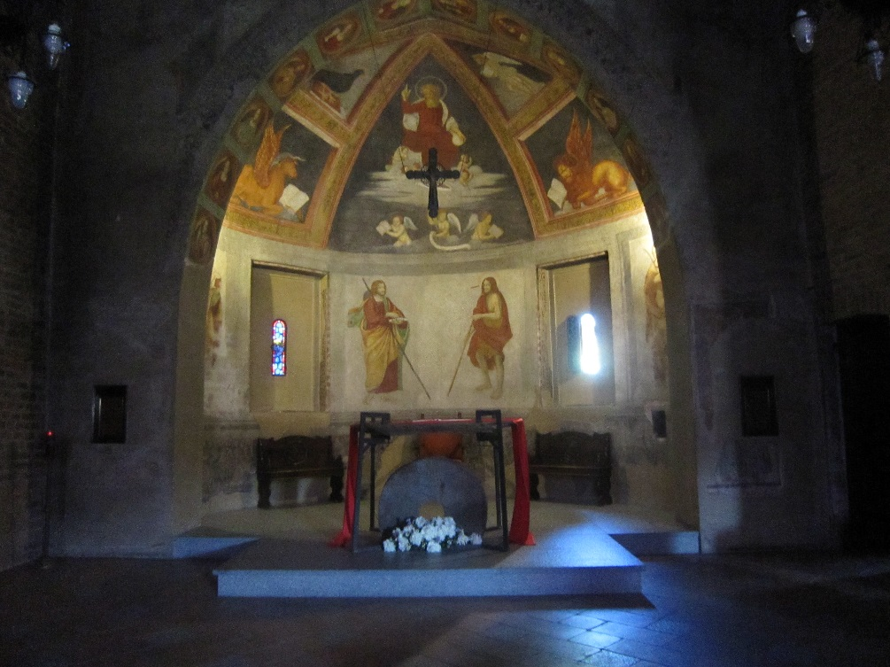 La chiesa di San Cristoforo al Naviglio