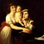 La famiglia Desmoulins: Lucile, Horace e Camille