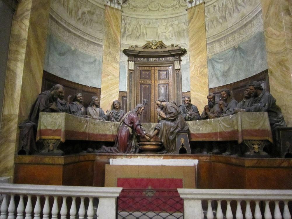 Gruppo scultoreo in San Sepolcro