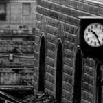 L'orologio della stazione