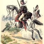 Ussaro prussiano, 1744
