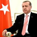 Recep Ttayyip Erdogan al Cremlino nel 2015