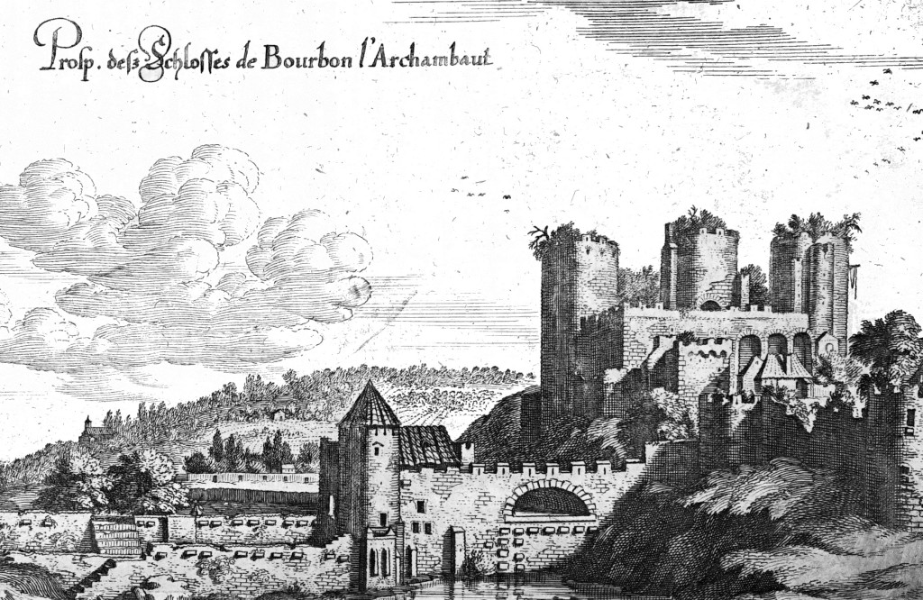 Veduta di Bourbon-l'Archambault