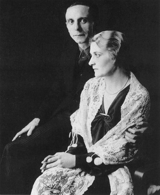 Magda e Joseph Goebbels il giorno delle nozze