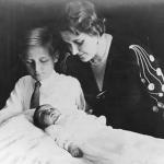Magda e Harald con la piccola Helga
