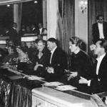 Novembre 1935, Hilter, i Goebbels e i  Göring al teatro dell'Opera di Charlottenburg