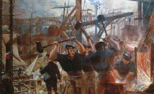 Iron and coal, di William Bell Scott