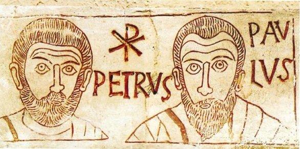 Pietro e Paolo, catacomba di sant'Ippolito