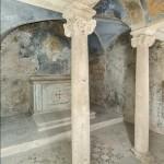 Il luogo dove probabilmente fu uccisa santa Agnese.