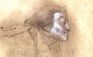 Fouquier-Tinville in un disegno di Vivant Denon