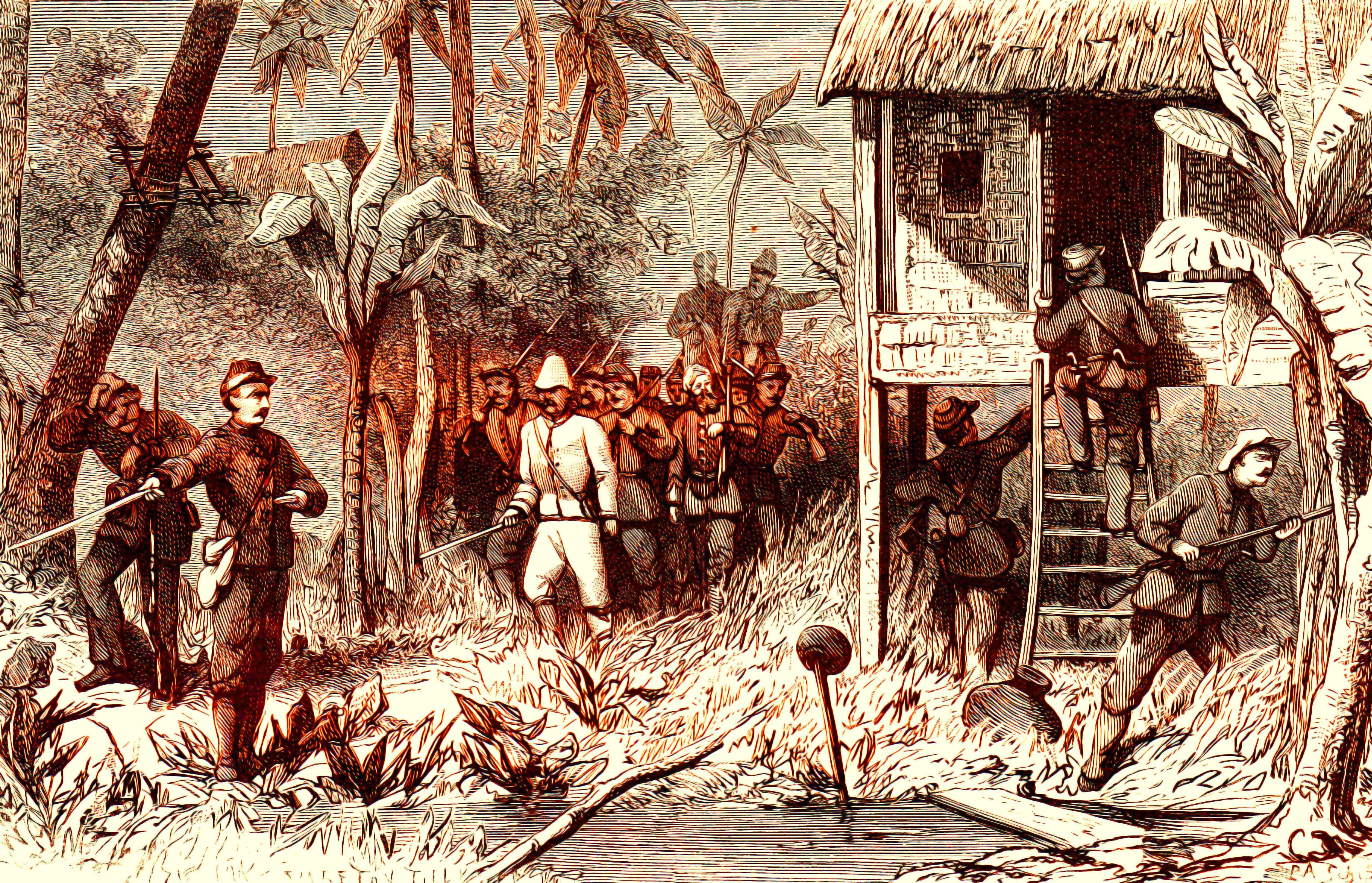 Rastrellamento durante la guerra di Aceh (1873-1904)